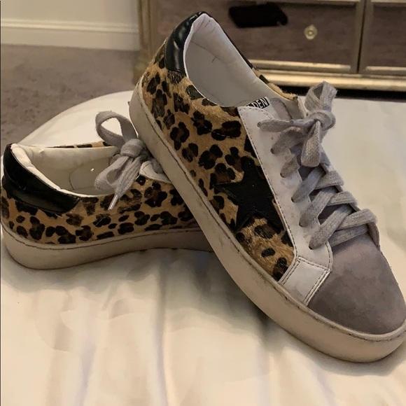 Off Brand Golden Goose Cheetah Sneakers